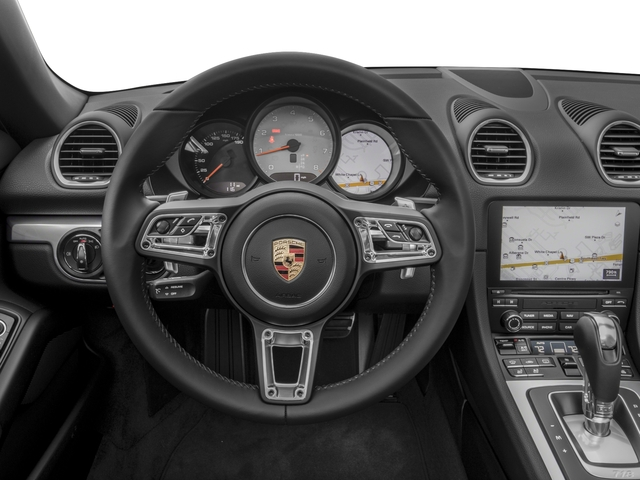 2017 Porsche 718 Boxster Pictures 718 Boxster Roadster 2D S H4 Turbo photos driver's dashboard