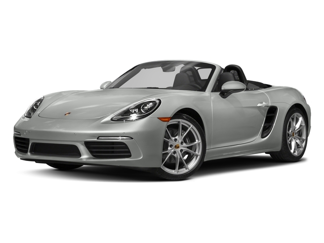 2017 Porsche 718 Boxster Pictures 718 Boxster Roadster photos side front view