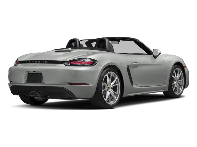2017 Porsche 718 Boxster Pictures 718 Boxster Roadster photos side rear view