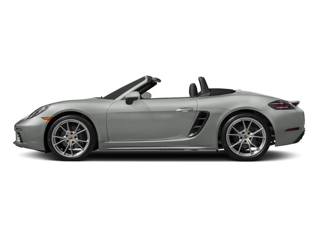 2017 Porsche 718 Boxster Pictures 718 Boxster Roadster photos side view