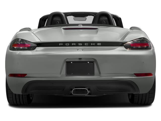 2017 Porsche 718 Boxster Pictures 718 Boxster Roadster 2D H4 Turbo photos rear view