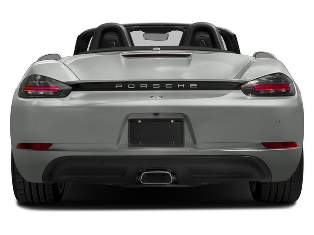 2017 Porsche 718 Boxster Prices and Values Roadster 2D H4 Turbo rear view