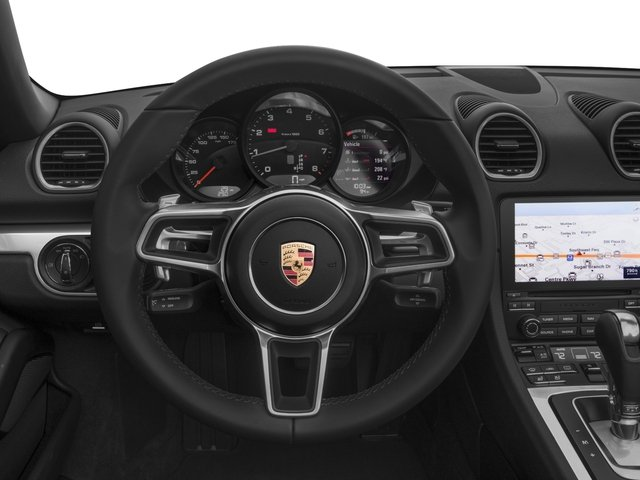 2017 Porsche 718 Boxster Prices and Values Roadster 2D H4 Turbo driver's dashboard
