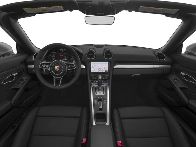 2017 Porsche 718 Boxster Pictures 718 Boxster Roadster photos full dashboard