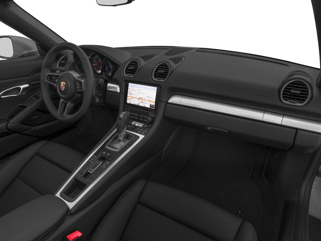 2017 Porsche 718 Boxster Prices and Values Roadster 2D H4 Turbo passenger's dashboard