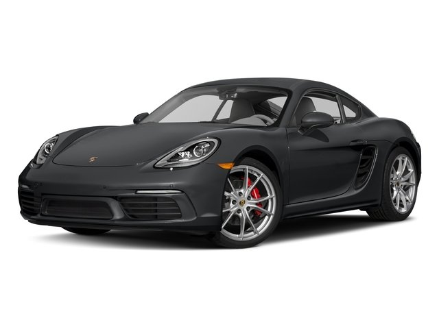 2017 Porsche 718 Cayman Pictures 718 Cayman S Coupe photos side front view