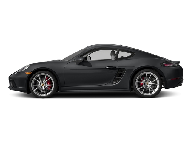 2017 Porsche 718 Cayman Prices and Values Coupe 2D S H4 Turbo side view