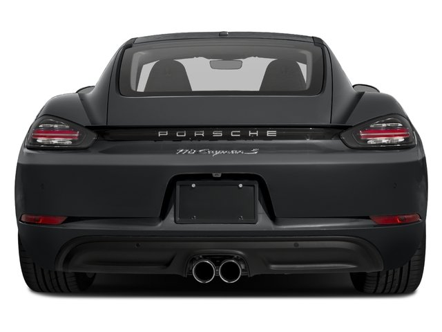 2017 Porsche 718 Cayman Prices and Values Coupe 2D S H4 Turbo rear view