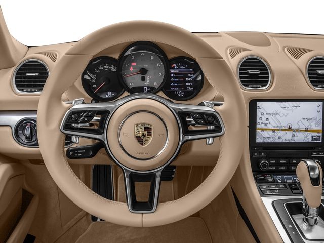 2017 Porsche 718 Cayman Prices and Values Coupe 2D S H4 Turbo driver's dashboard