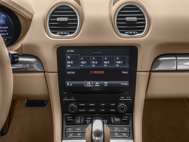 2017 Porsche 718 Cayman Prices and Values Coupe 2D S H4 Turbo stereo system