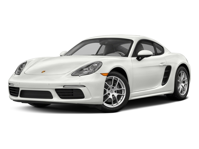 2017 Porsche 718 Cayman Base Price Coupe Pricing side front view