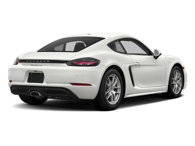 2017 Porsche 718 Cayman Base Price Coupe Pricing side rear view