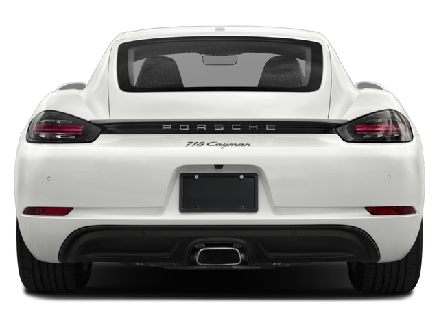 2017 Porsche 718 Cayman Base Price Coupe Pricing rear view