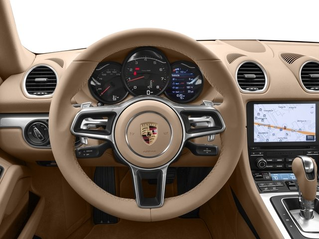 2017 Porsche 718 Cayman Base Price Coupe Pricing driver's dashboard