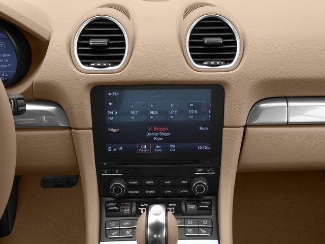2017 Porsche 718 Cayman Base Price Coupe Pricing stereo system