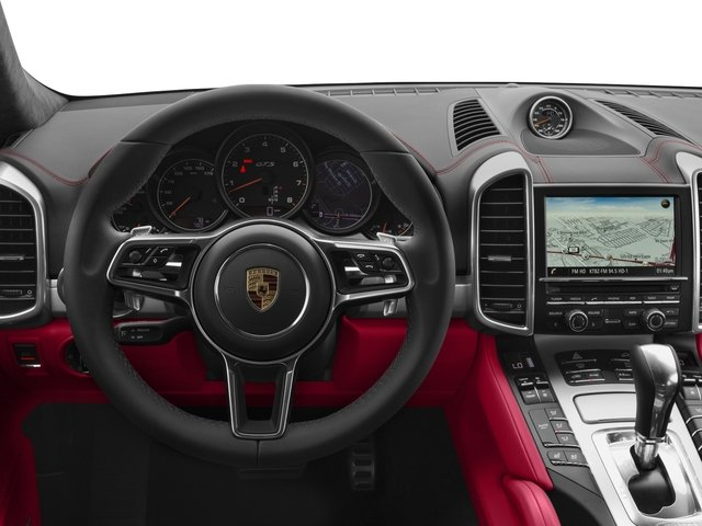 2017 Porsche Cayenne Prices and Values Utility 4D GTS AWD V6 Turbo driver's dashboard