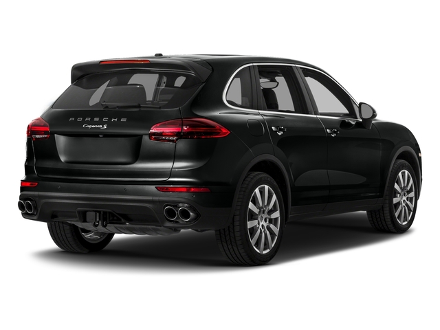 2017 Porsche Cayenne Pictures Cayenne S AWD photos side rear view