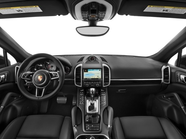 2017 Porsche Cayenne Pictures Cayenne S AWD photos full dashboard