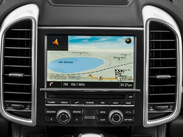 2017 Porsche Cayenne Pictures Cayenne S AWD photos navigation system