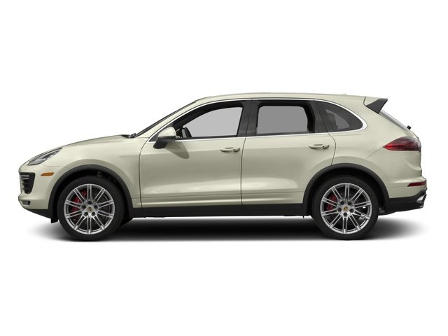2017 Porsche Cayenne Pictures Cayenne Turbo AWD photos side view