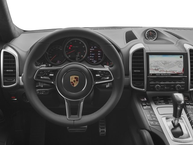 2017 Porsche Cayenne Prices and Values Utility 4D S AWD V8 Turbo driver's dashboard