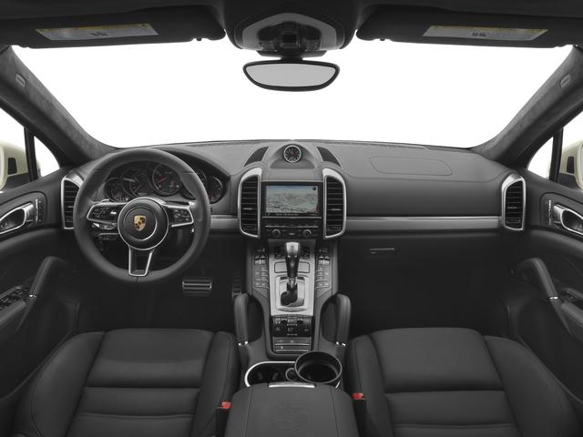 2017 Porsche Cayenne Pictures Cayenne Turbo AWD photos full dashboard