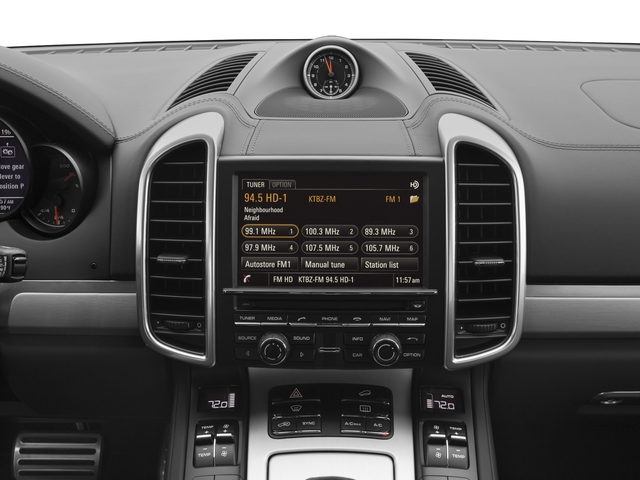 2017 Porsche Cayenne Pictures Cayenne Turbo AWD photos stereo system