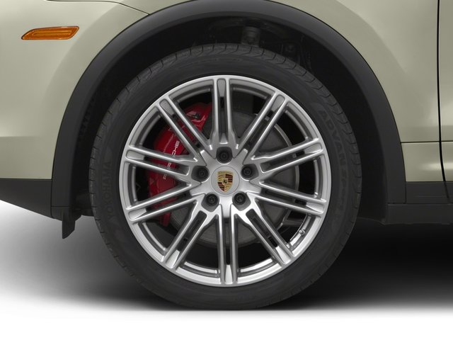 2017 Porsche Cayenne Prices and Values Utility 4D AWD V8 Turbo wheel