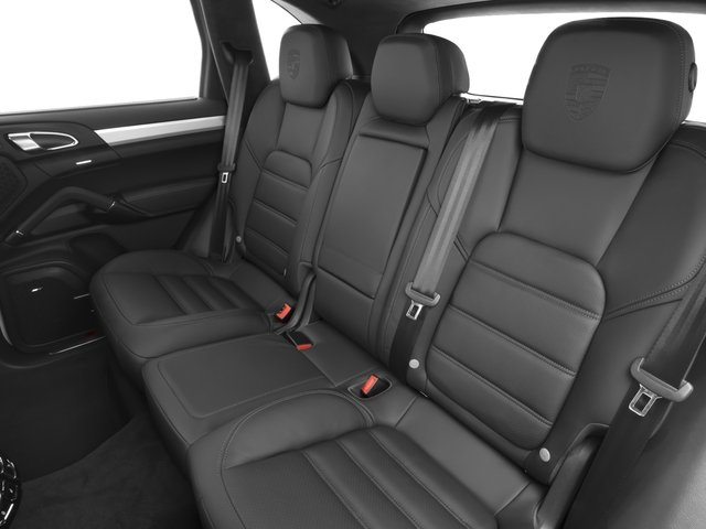 2017 Porsche Cayenne Pictures Cayenne Turbo AWD photos backseat interior