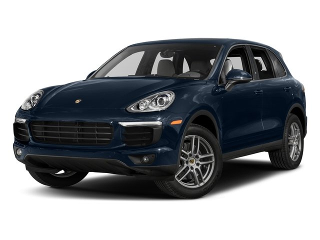 2017 Porsche Cayenne Pictures Cayenne Utility 4D AWD V6 photos side front view