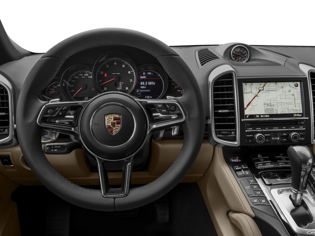 2017 Porsche Cayenne Prices and Values Utility 4D AWD V6 driver's dashboard