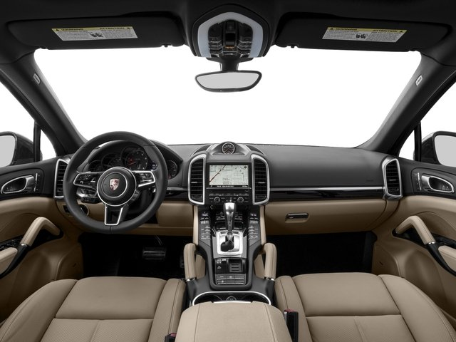 2017 Porsche Cayenne Pictures Cayenne AWD photos full dashboard