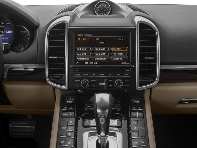 2017 Porsche Cayenne Prices and Values Utility 4D AWD V6 stereo system