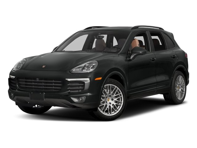 2017 Porsche Cayenne Base Price Platinum Edition AWD Pricing side front view