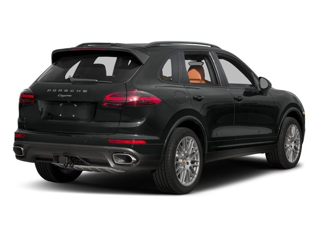 2017 Porsche Cayenne Pictures Cayenne Utility 4D Platinum AWD V6 photos side rear view