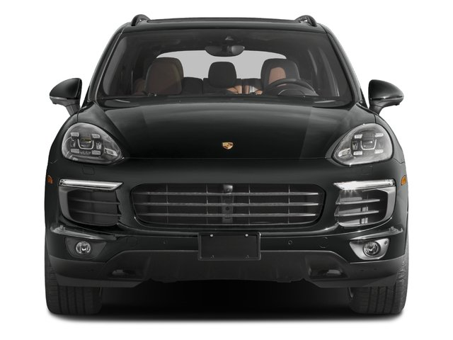 2017 Porsche Cayenne Base Price Platinum Edition AWD Pricing front view