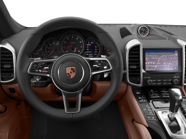 2017 Porsche Cayenne Prices and Values Utility 4D Platinum AWD V6 driver's dashboard