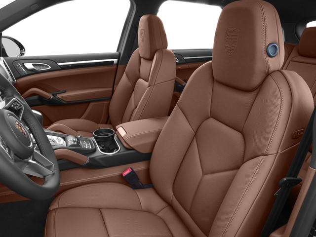 2017 Porsche Cayenne Prices and Values Utility 4D Platinum AWD V6 front seat interior