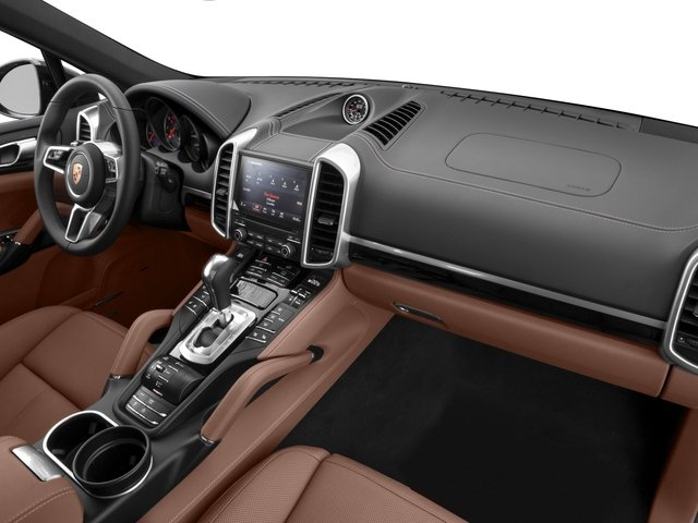 2017 Porsche Cayenne Prices and Values Utility 4D Platinum AWD V6 passenger's dashboard