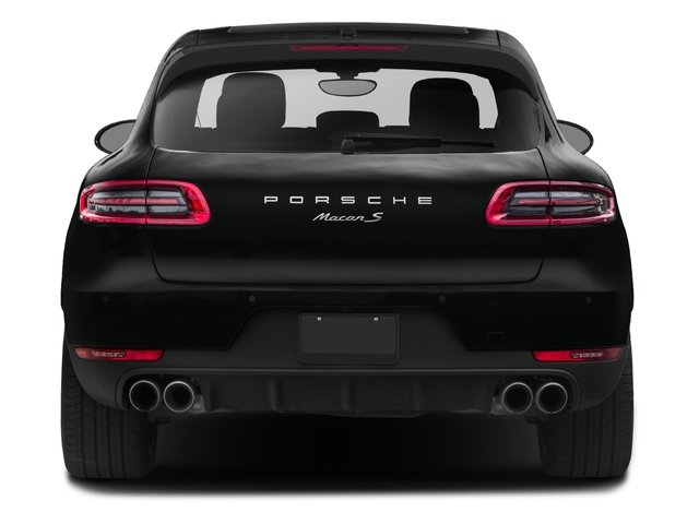 2017 Porsche Macan Prices and Values Utility 4D GTS AWD V6 Turbo rear view