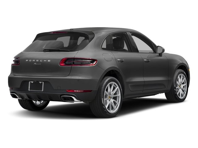 2017 Porsche Macan Prices and Values Utility 4D AWD I4 Turbo side rear view