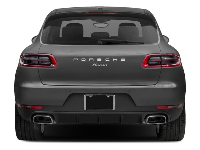 2017 Porsche Macan Prices and Values Utility 4D AWD I4 Turbo rear view