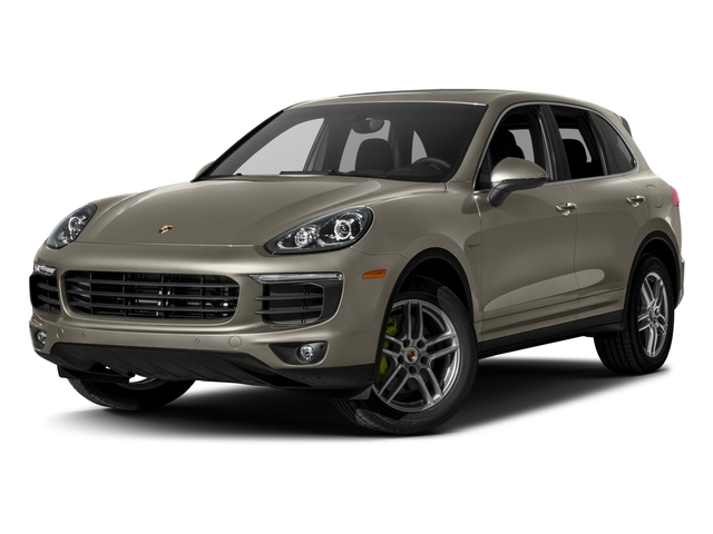2017 Porsche Cayenne Pictures Cayenne S E-Hybrid Platinum Edition AWD photos side front view