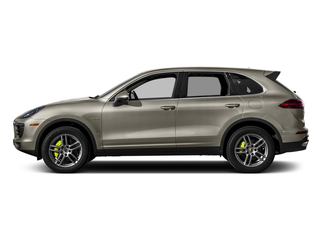 2017 Porsche Cayenne Pictures Cayenne S E-Hybrid AWD photos side view