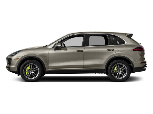 2017 Porsche Cayenne Pictures Cayenne S E-Hybrid Platinum Edition AWD photos side view