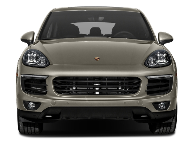 2017 Porsche Cayenne Pictures Cayenne S E-Hybrid Platinum Edition AWD photos front view