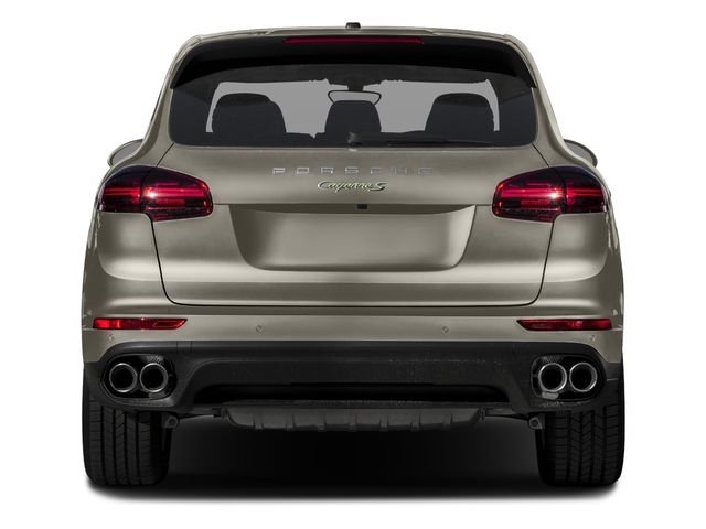 2017 Porsche Cayenne Pictures Cayenne S E-Hybrid AWD photos rear view