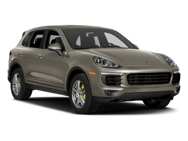 2017 Porsche Cayenne Prices and Values Utility 4D S V6 e-Hybrid AWD side front view