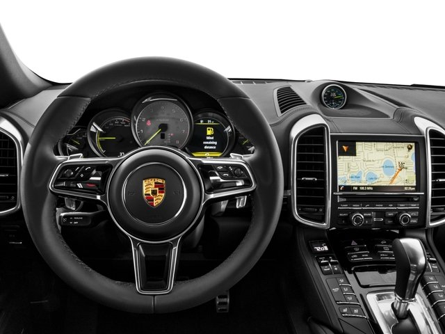 2017 Porsche Cayenne Prices and Values Util 4D S e-Hybrid Platinum AWD V6 driver's dashboard