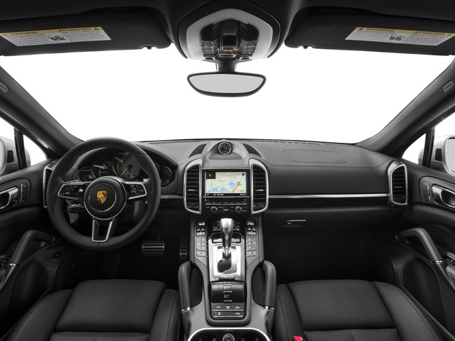 2017 Porsche Cayenne Pictures Cayenne S E-Hybrid Platinum Edition AWD photos full dashboard